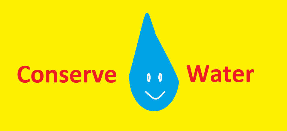 How can I conserve water in my house?
